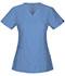 Photograph of WW Flex Women's V-Neck Top Blue 44700A-CIEW