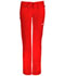 Photograph of Bliss Women's Low Rise Straight Leg Drawstring Pant Red 46000A-RECH