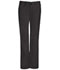 Photograph of Bliss Women's Mid Rise Moderate Flare Drawstring Pant Black 46002A-BXCH