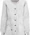 Photograph of Bliss Women's Snap Front Warm-up Jacket White 46300AB-WHCH