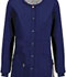 Photograph of Bliss Women's Snap Front Warm-up Jacket Blue 46300A-NVCH