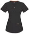 Photograph of Code Happy Bliss Women's V-Neck Top Black 46600AB-BXCH
