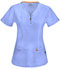 Photograph of Bliss Women's V-Neck Top Blue 46600A-CLCH