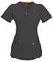 Photograph of Bliss Women's V-Neck Top Gray 46600A-PWCH