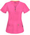 Photograph of Bliss Women V-Neck Top Pink 46600A-SHCH