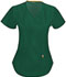 Photograph of Bliss Women Mock Wrap Top Green 46601A-HNCH