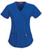 Photograph of Bliss Women's Mock Wrap Top Blue 46601A-RYCH