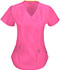 Photograph of Bliss Women's Mock Wrap Top Pink 46601A-SHCH
