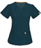 Photograph of Code Happy Bliss Women's V-Neck Top Blue 46607A-CACH