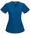 Photograph of Code Happy Bliss Women's V-Neck Top Blue 46607A-RYCH