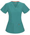 Photograph of Code Happy Bliss Women's V-Neck Top Green 46607A-TLCH