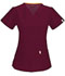 Photograph of Bliss Women's V-Neck Top Purple 46607A-WICH