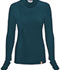 Photograph of Code Happy Bliss Women's Long Sleeve Underscrub Knit Tee Blue 46608A-CACH
