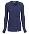 Photograph of Code Happy Bliss Women's Long Sleeve Underscrub Knit Tee Blue 46608A-NVCH