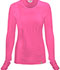Photograph of Bliss Women's Long Sleeve Underscrub Knit Tee Pink 46608A-SHCH