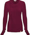 Photograph of Code Happy Bliss Women's Long Sleeve Underscrub Knit Tee Purple 46608A-WICH