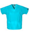 Photograph of WW Originals Women's V-Neck Top Blue 4700-TRQW