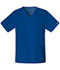 Photograph of WW Core Stretch Unisex Unisex V-Neck Top Blue 4725-GABW