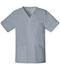 Photograph of WW Core Stretch Unisex Unisex V-Neck Top Gray 4725-GRYW