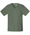 Photograph of WW Core Stretch Unisex Unisex V-Neck Top Green 4725-OLVW