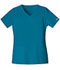 Photograph of WW Core Stretch Women\'s V-Neck Top Blue 4727-CARW