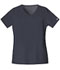 Photograph of WW Core Stretch Women\'s V-Neck Top Gray 4727-PWTW