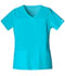 Photograph of WW Core Stretch Women's V-Neck Top Blue 4727-TRQW