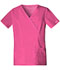 Photograph of WW Core Stretch Women Mock Wrap Top Pink 4728-SHPW