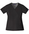 Photograph of WW Originals Women's Mock Wrap Top Black 4741-BLKW