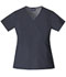 Photograph of WW Originals Women's Mock Wrap Top Gray 4741-PWTW