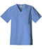 Photograph of WW Core Stretch Men's Men's V-Neck Top Blue 4743-CIEW
