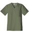 Photograph of WW Core Stretch Men's Men's V-Neck Top Green 4743-OLVW