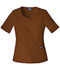 Photograph of WW Originals Women\'s V-Neck Top Brown 4746-CHCW