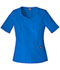 Photograph of WW Originals Women's V-Neck Top Blue 4746-ROYW