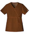 Photograph of WW Core Stretch Women's Mock Wrap Top Brown 4748-CHCW