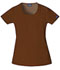 Photograph of WW Originals Women\'s Round Neck Top Brown 4761-CHCW