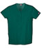 Photograph of WW Originals Women\'s Snap Front V-Neck Top Green 4770-HUNW