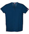 Photograph of WW Originals Women's Snap Front V-Neck Top Blue 4770-NAVW