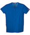 Photograph of WW Originals Women's Snap Front V-Neck Top Blue 4770-ROYW