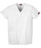 Photograph of WW Originals Women's Snap Front V-Neck Top White 4770-WHTW