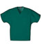 Photograph of WW Originals Unisex Unisex V-Neck Tunic. Green 4777-HUNW