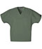 Photograph of WW Originals Unisex Unisex V-Neck Tunic Green 4777-OLVW