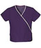 Photograph of WW Originals Women\'s Mini Mock Wrap Top Purple 4800-EGGW