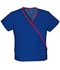 Photograph of WW Originals Women's Mini Mock Wrap Top Blue 4800-GABW