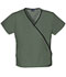 Photograph of WW Originals Women's Mini Mock Wrap Top Green 4800-OLVW