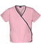 Photograph of WW Originals Women's Mini Mock Wrap Top Pink 4800-PKBW