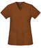 Photograph of WW Originals Women\'s Mock Wrap Tunic Brown 4801-CHCW