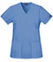 Photograph of WW Originals Women\'s Mock Wrap Tunic Blue 4801-CIEW