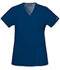 Photograph of WW Originals Women's Mock Wrap Tunic Blue 4801-NAVW