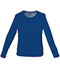 Photograph of WW Originals Women's Long Sleeve Underscrub Knit Tee Blue 4818-NAVW